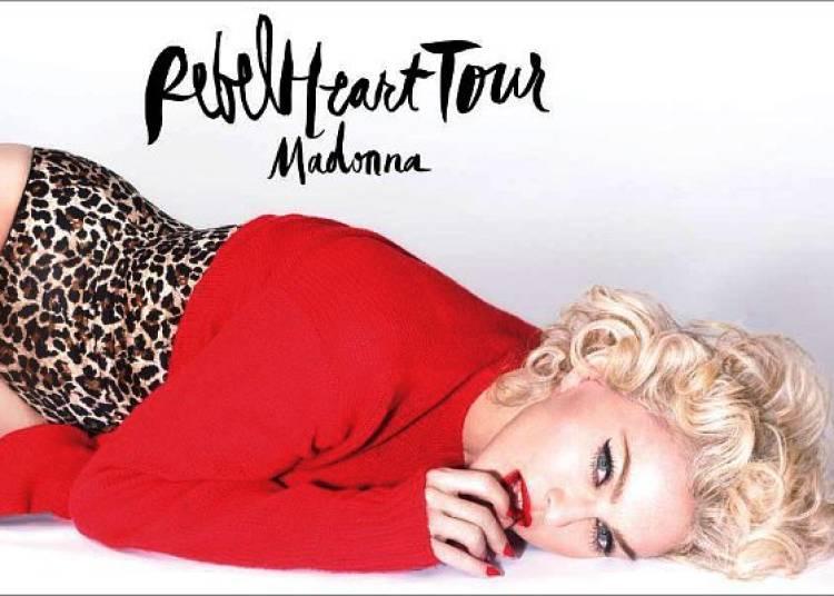 Madonna � Paris 12�me