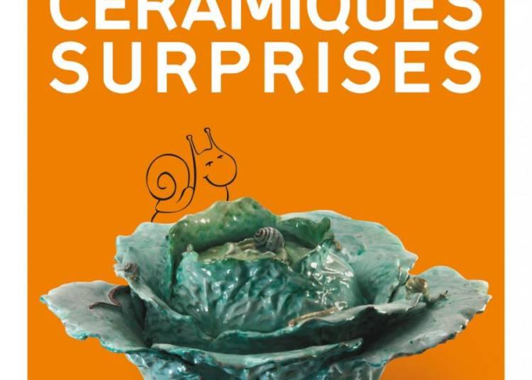 C�ramiques surprises : fa�ences et trompe l'oeil du 18e et 19e si�cle � Samadet