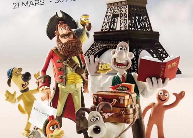 Aardmann, l'art qui prend forme � Paris 13�me