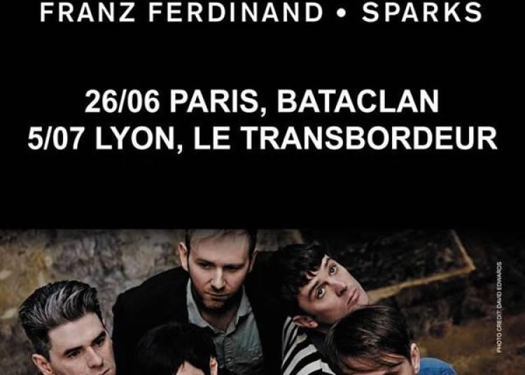 FFS, Franz Ferdinand et Sparks � Villeurbanne