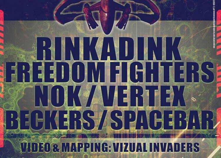 Rinkadink, Freedom Fighters, Nok, Vertex, Beckers � Saint Etienne