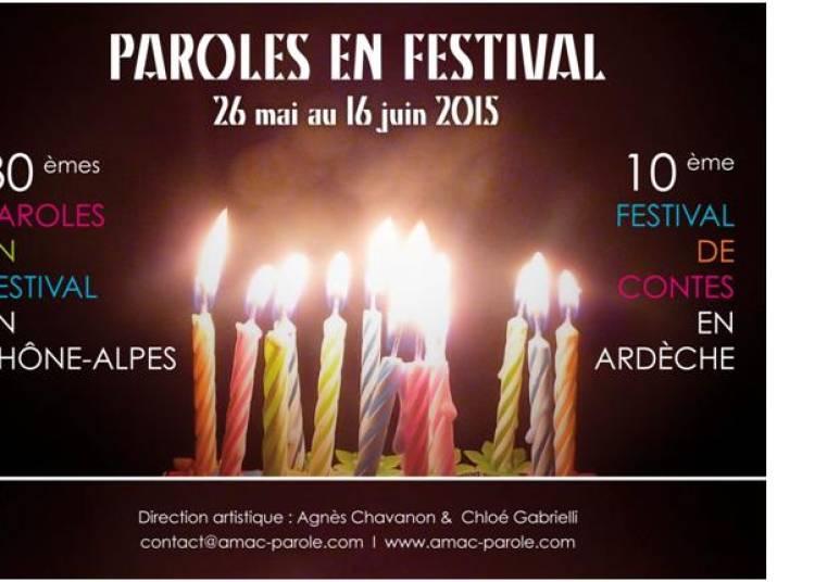 Paroles en Festival 2015