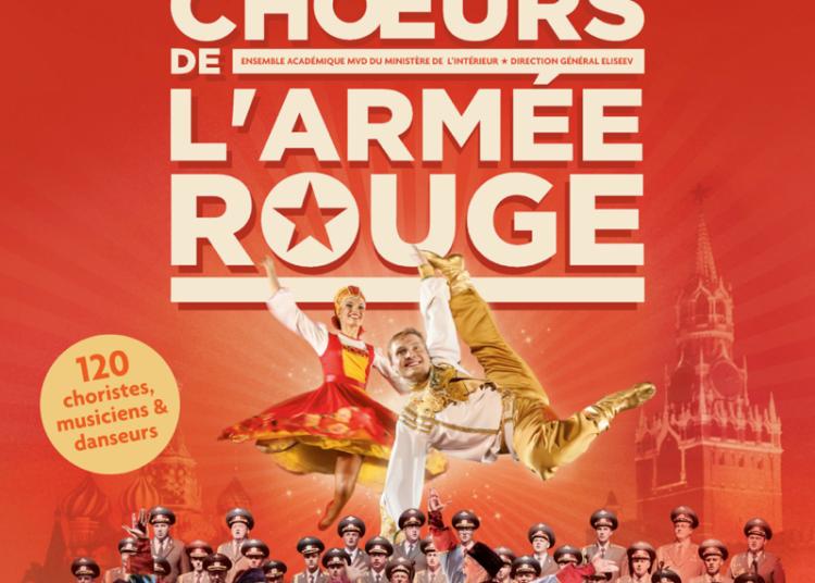 Les choeurs de l'arm�e rouge mvd � Paris 15�me