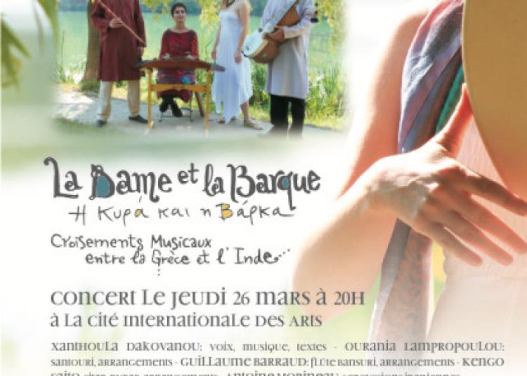 Xanthoula Dakovanou et L'ensemble Anassa � Paris 20�me