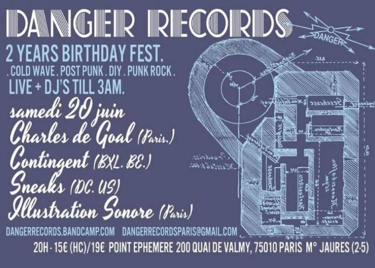 Danger Records Fest Day 2 � Paris 10�me