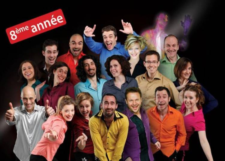 Colors le spectacle d'improvisation � Paris 10�me