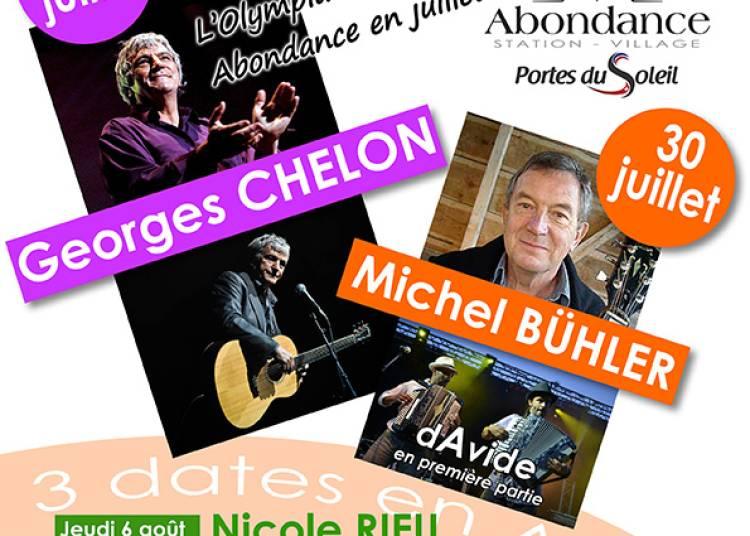 Festival Chansons en Abondance 2015