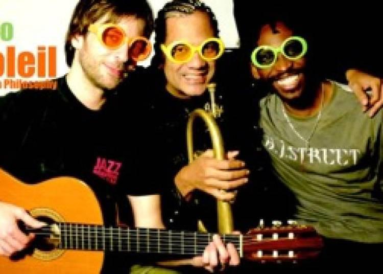 Franck Nicolas / Nelson Veras / Sonny Troup� Trio Soleil � Paris 1er