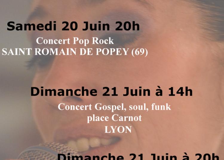Concert gospel, funk, soul à Lyon