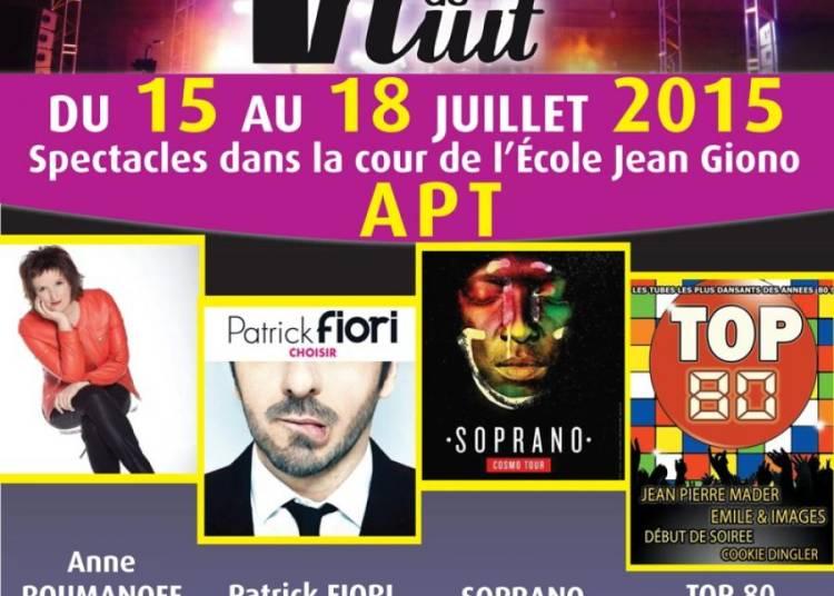 Les Tr�teaux de Nuit 2015