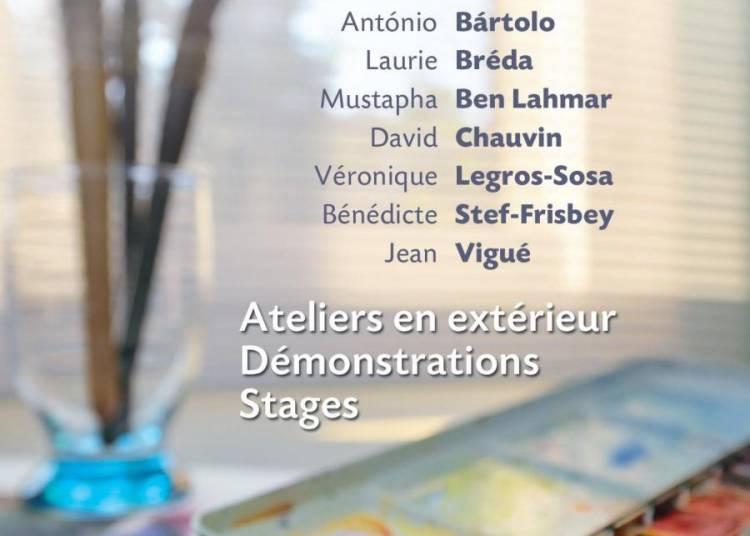 Rencontres Internationales d'aquarelle contemporaine d'Arvert 2015