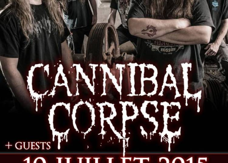 Cannibal Corpse et Guests � Paris 13�me