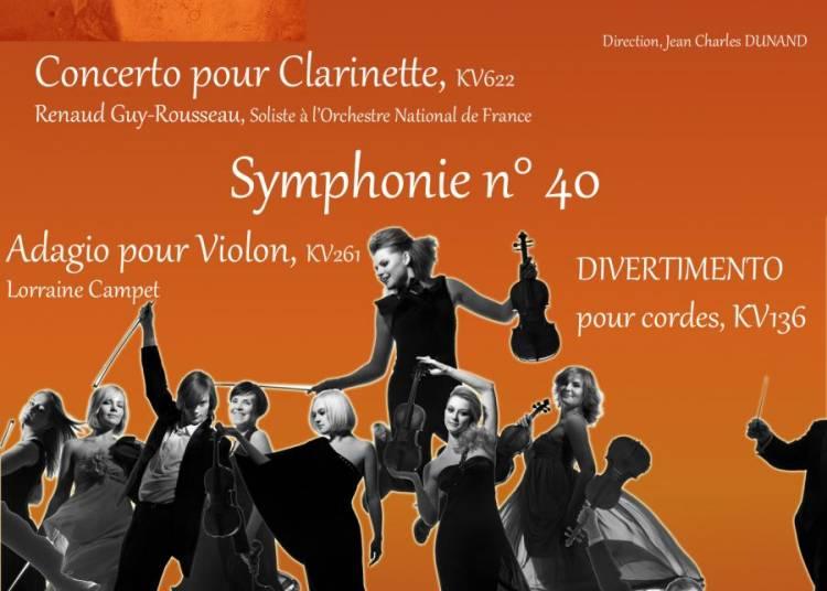 Concert Mozart � Paris 17�me