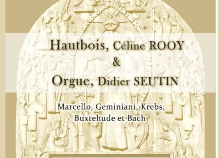Celine Rooy Hautbois, Didier Seutin Orgue � Paris 17�me