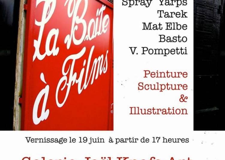 La boite � films � Paris 13�me