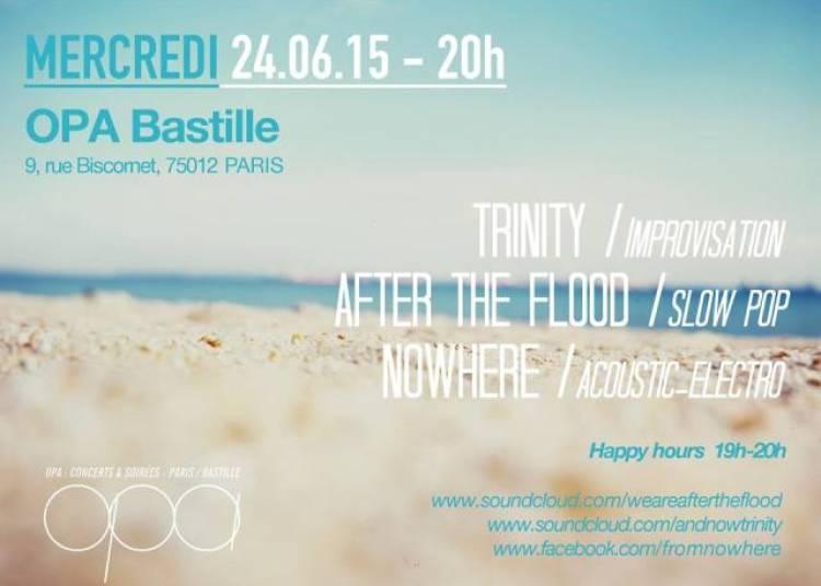 After The Flood, Trinity, Nowhere � Paris 12�me