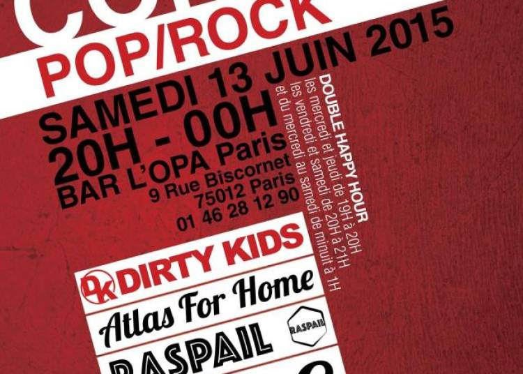 Raspail, Atlas For Home, Dirty Kids � Paris 12�me