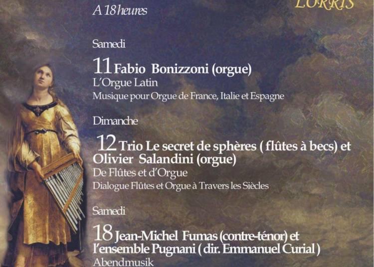 Festival d'orgue et de musique ancienne 2015