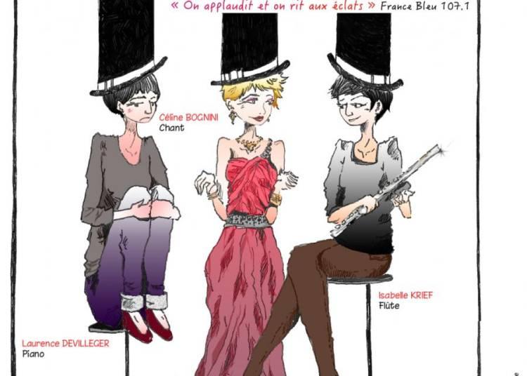 Les 3 Drôles de Gammes font Avignon le Off 2015