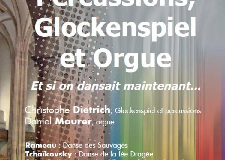 Percussions,Glockenspiel et Orgue � Strasbourg