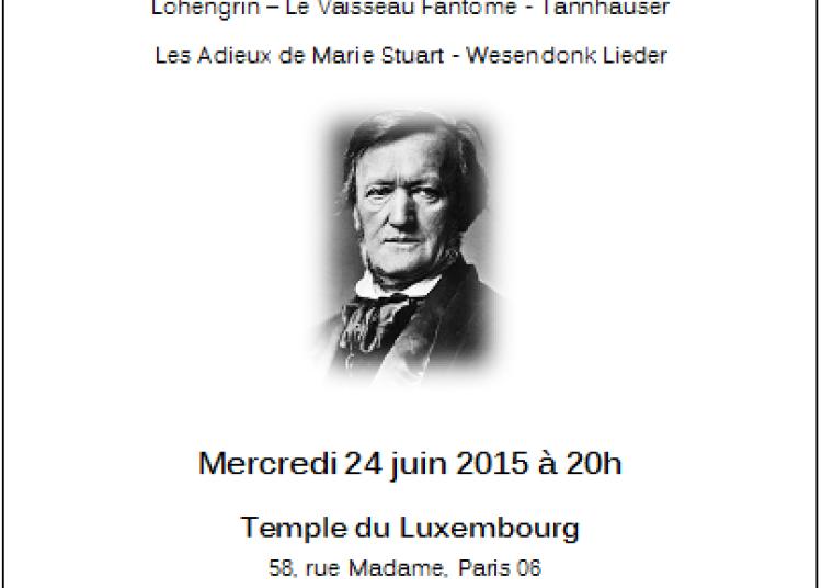 R�cital Richard Wagner � Paris 6�me