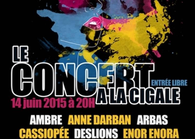 Concert talents aiguilles 2 � Paris 18�me