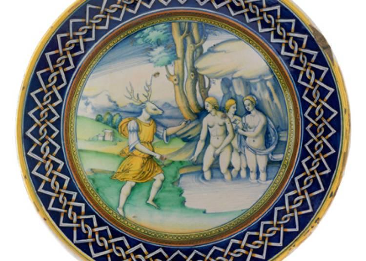 Majoliques italiennes de la Renaissance , collection Gillet � Toulouse