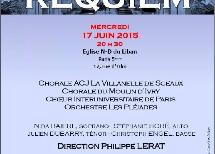 Requiem de Michael Haydn, Philippe Lerat � Paris 5�me