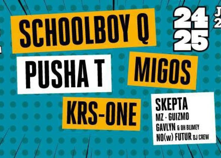 Schoolboy Q, Pusha t, Krs One, Migos, Gavlyn, Mz... � Nice
