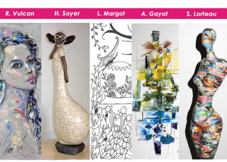 Agn�s Gayat, S�verine Lorteau, Leen Margot � Neuilly sur Marne