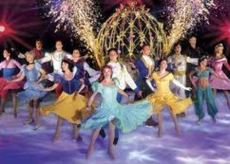 Disney Sur Glace � Paris 19�me