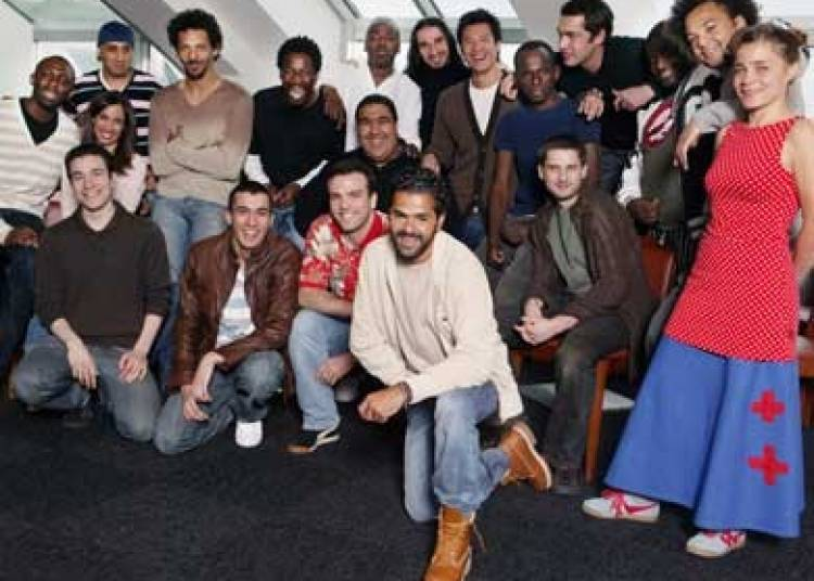 La troupe du Jamel Comedy Club � Sausheim