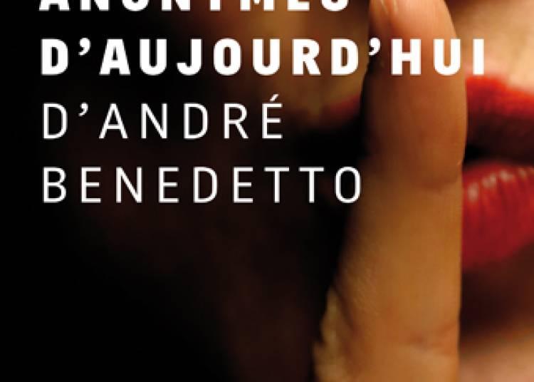 Lettres anonymes d'aujoud'hui, Cie Un peu de poésie à Avignon