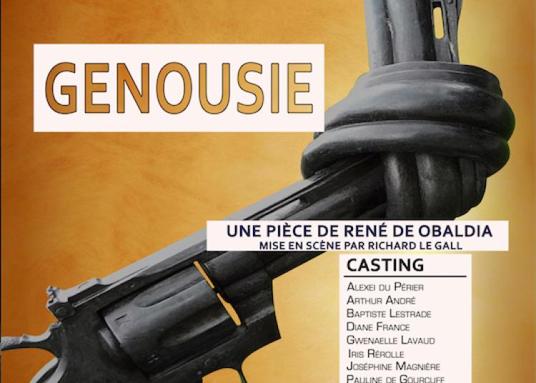 Genousie, de Ren� de Obaldia � Paris 18�me