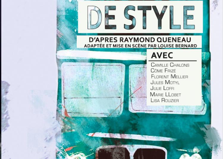 Les exercices de style de Raymond Queneau � Paris 18�me