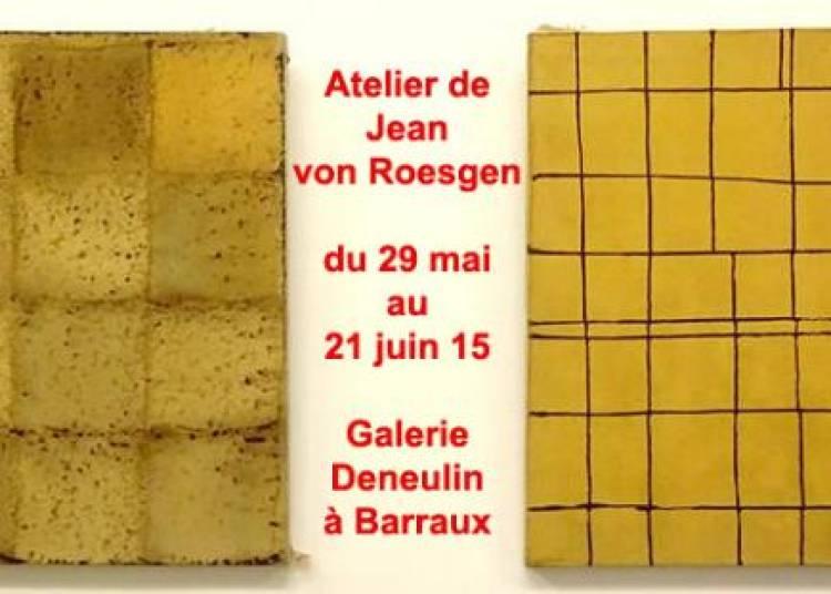 Fonds d'atelier de Jean von Roesgen � Barraux