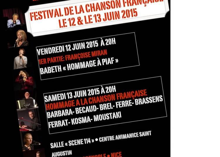 FESTIVAL DE CHANSONS FRANCAISES 2015
