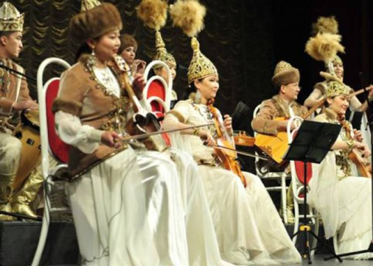 Journ�es culturelles du Kazakhstan (Almaty) 2015