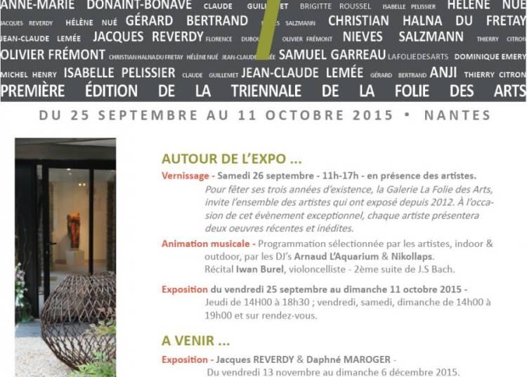 Premi�re �dition de la Triennale de La Folie des Arts � Nantes
