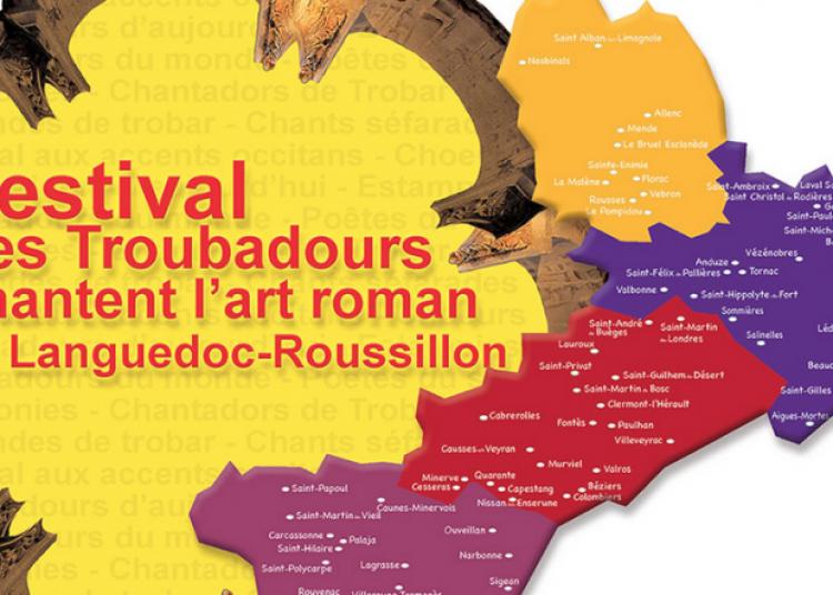 Les Troubadours chantent l'art Roman 2015