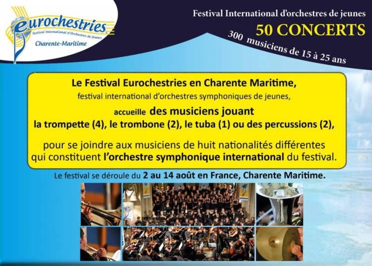 Festival Eurochestries Charente - Maritime 2015