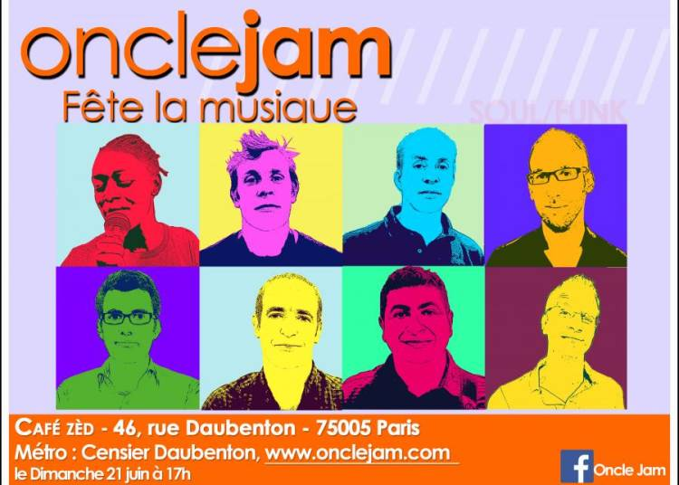 Oncle Jam à Paris 5ème