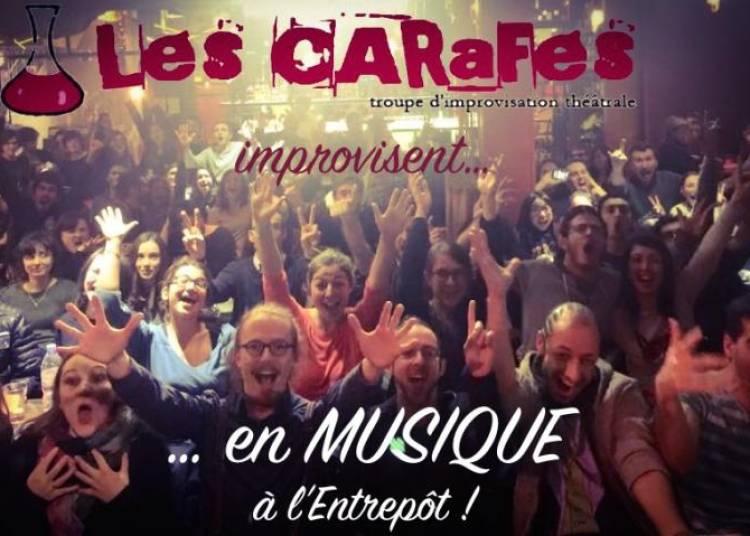 Les carafes improvisent...en musique ! à Paris 14ème