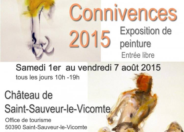 Connivences : peinture dessin � Saint Sauveur le Vicomte