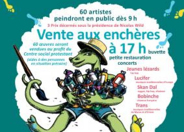 Jeunes L�zards, Lucifer, Skan Dal,  Bobinche et Trans � Strasbourg