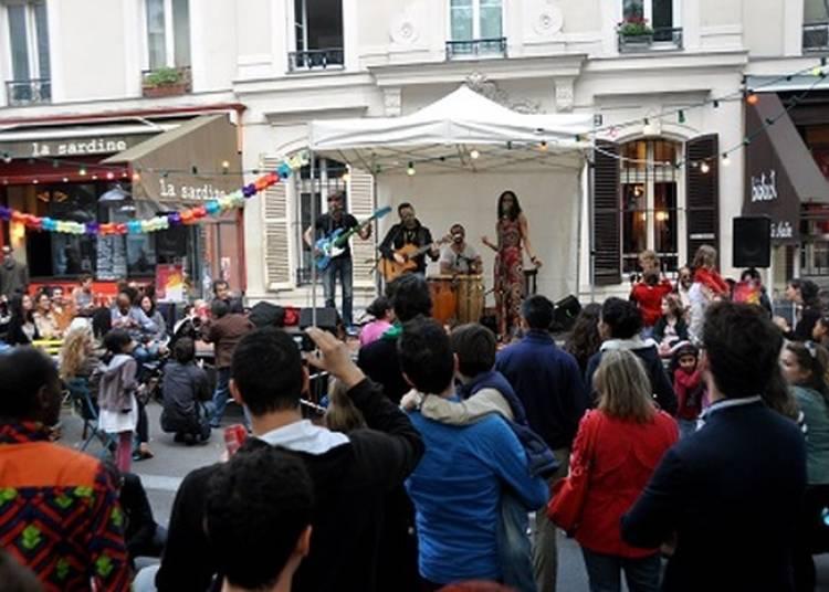 Chansons et musiques du monde Place Sainte Marthe à Paris 10ème