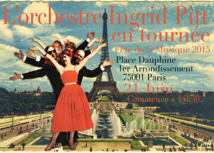 L'Ingrid Pitt Orchestra à Paris 1er