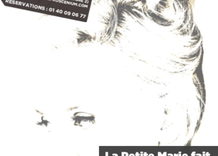 La Petite Marie fait sa Po�sie... � Paris 11�me