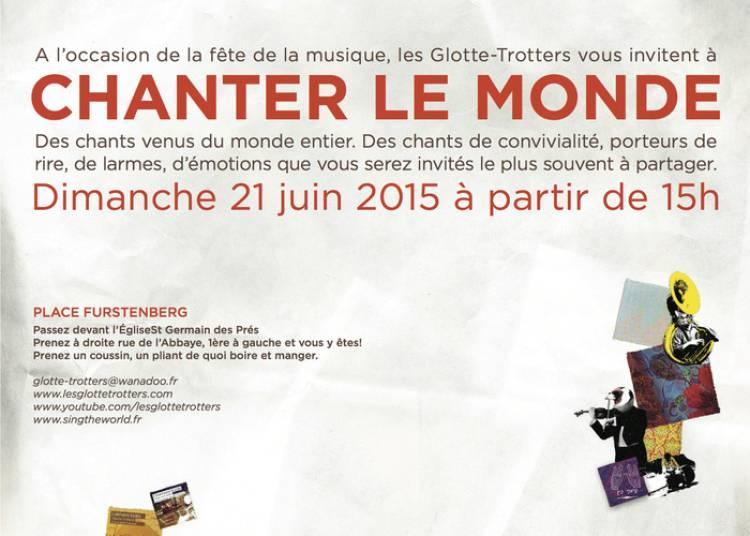 Les glotte-trotters vous invitent à chanter le monde ! à Paris 6ème