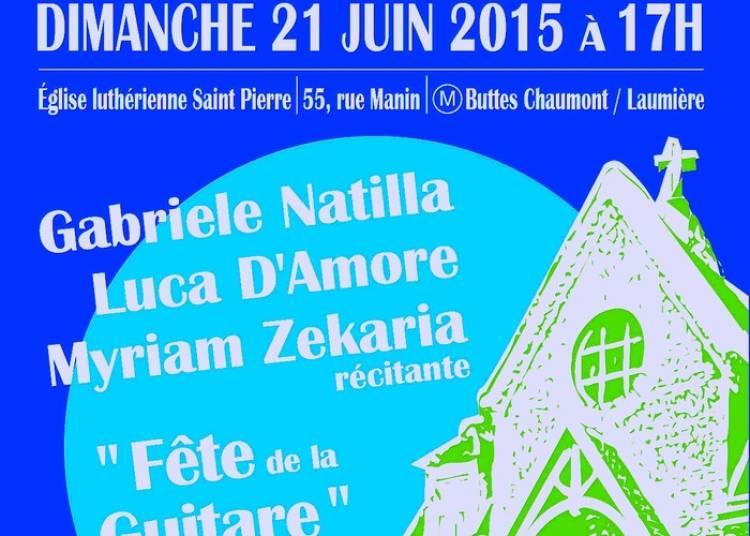 Luca d'Amore, Gabriele Natilla, Myriam Zekaria à Paris 19ème